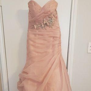 Disney collection sleeping beauty wedding dress.